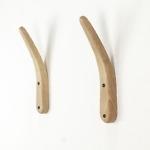 Drewniane Skandynawskie ekskluzywne wieszaki z giętego dębu pierwszej klasy, designerskie