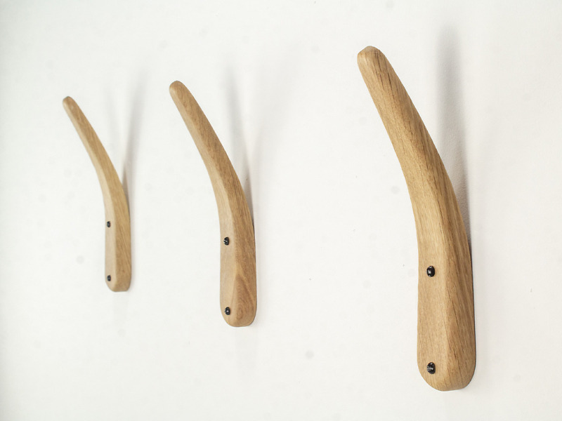 Drewniane Skandynawskie ekskluzywne wieszaki z giętego dębu pierwszej klasy, designerskie (Kopia)